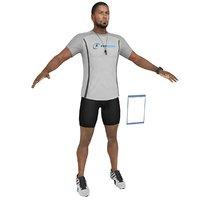 fitness coach 4 3D