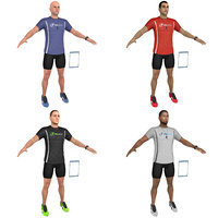 3D pack fitness coach model