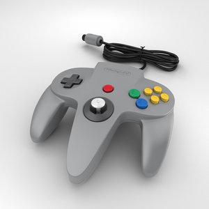 nintendo 64 controller model