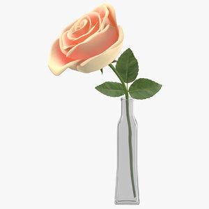 rose vase 3D model