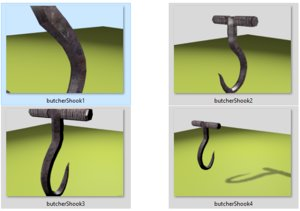 3D hook dungeon kinky model