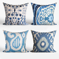 3D decorative pillows houzz set