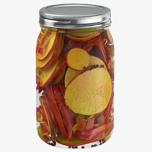 3D pickled jar 04