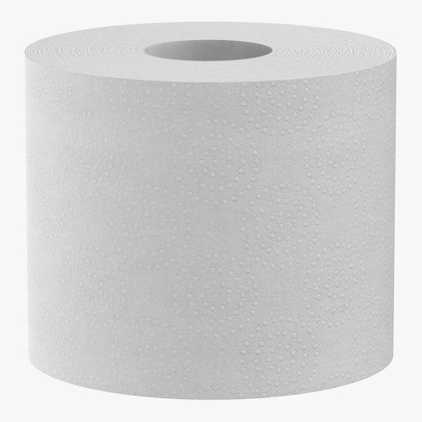 toilet paper 02 3D