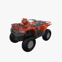 ATV Bike 3D Model