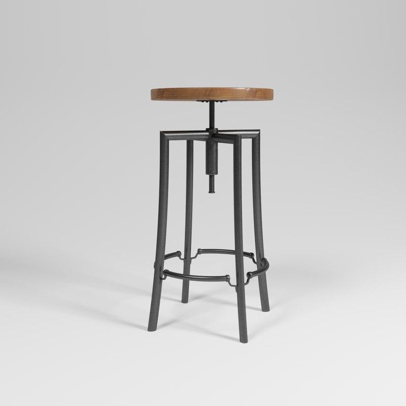 chair westlyn bar 3D model