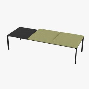 lapalma add bench 3D model