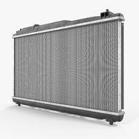 motor radiator 3D model