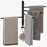 Modern Bathroom Towel Rack