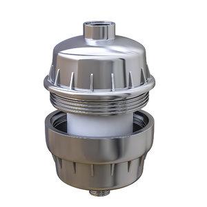 3D shower tap water filter