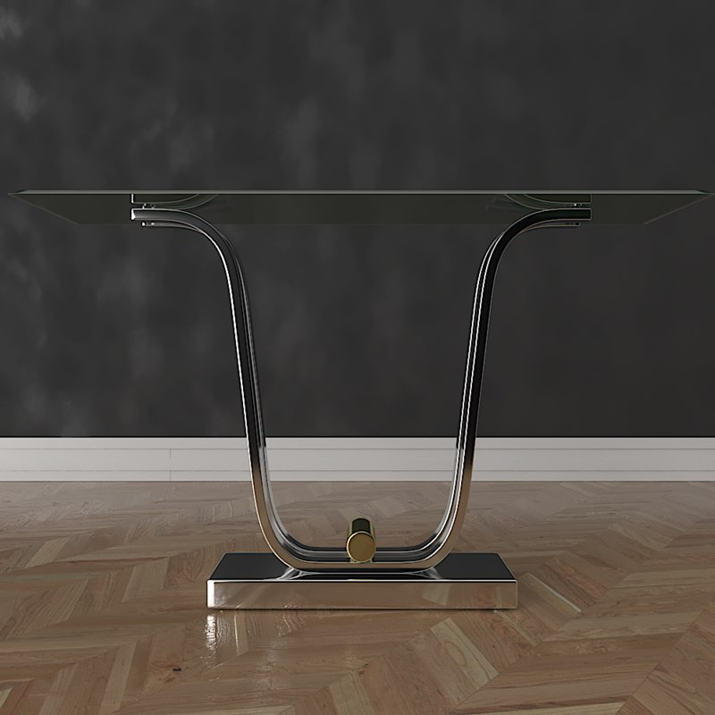 3D eichholtz console table