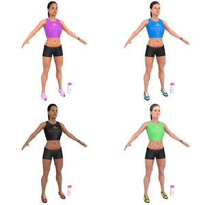 pack fitness 3D