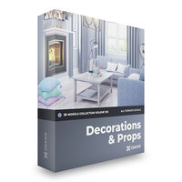 3D model decorations volume 103