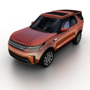 3D 2017 land rover discovery