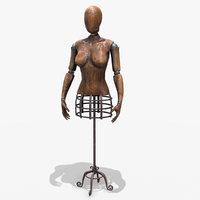 mannequin pbr 3D