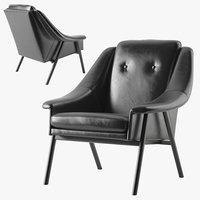 3D kare queens armchair model