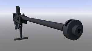 rifle anti-tank boys 55 3D model