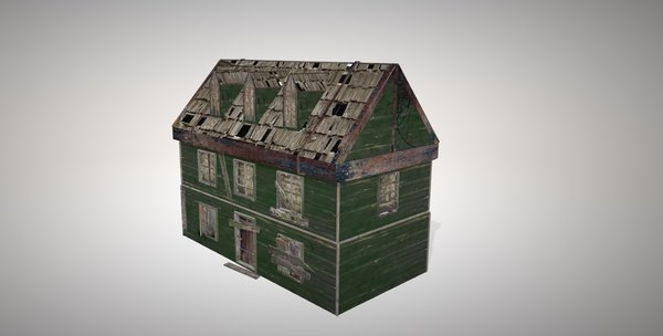abandoned house 3D