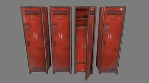 3D locker model