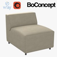 boconcept carmo chair 3D model