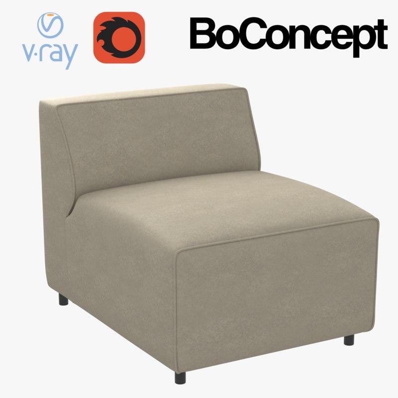 boconcept carmo chair 3D model