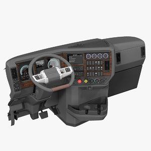 truck dashboard model
