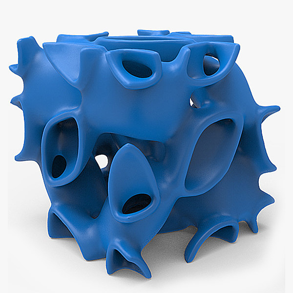 solid printing 3D model