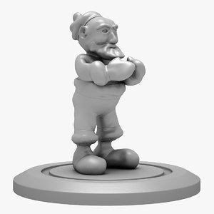 santa print 3D