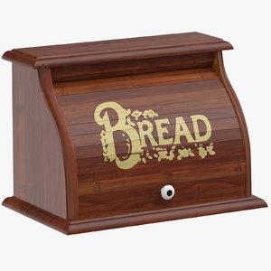 3D breadbox 01 closed