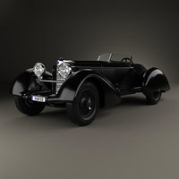 Mercedes-Benz 710 SSK Trossi Roadster 1930