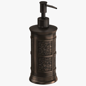 soap dispenser 04 3D model