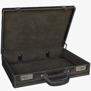 rigged briefcase interior model