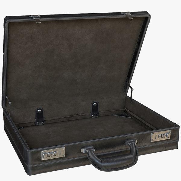 rigged briefcase interior model