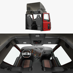 3D mack truck cabin 2