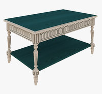 3D gotic coffee table
