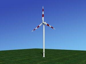 turbine nordex wind power 3D model