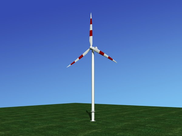 turbine nordex wind power 3D model