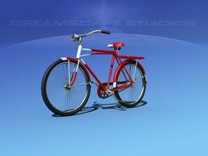peddles bicycles 3D model