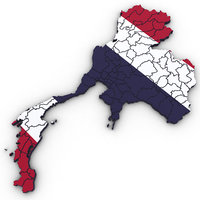 3D thailand political