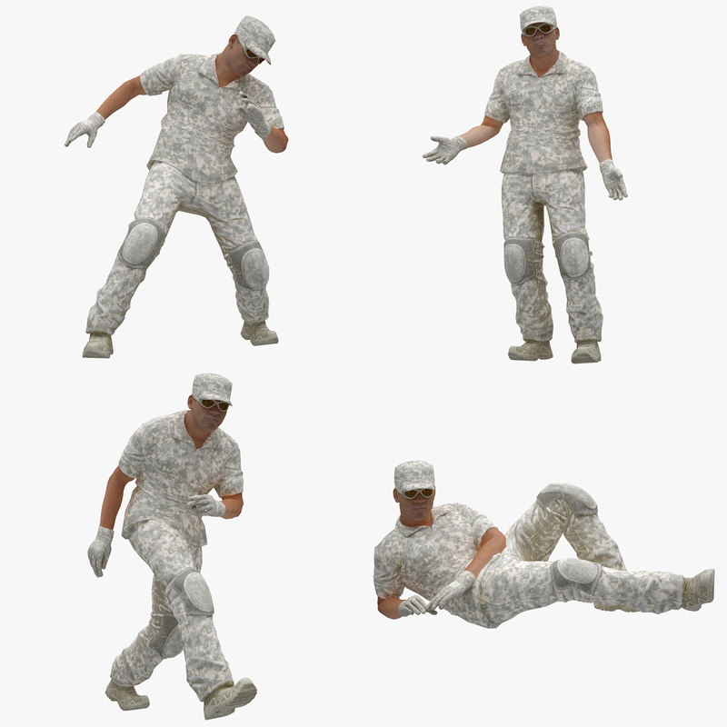 01 male 3D model