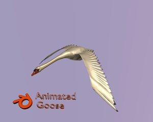 3D goose model