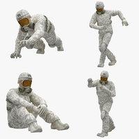 02 man 3D model