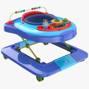 3D model baby walker