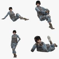 01 female model