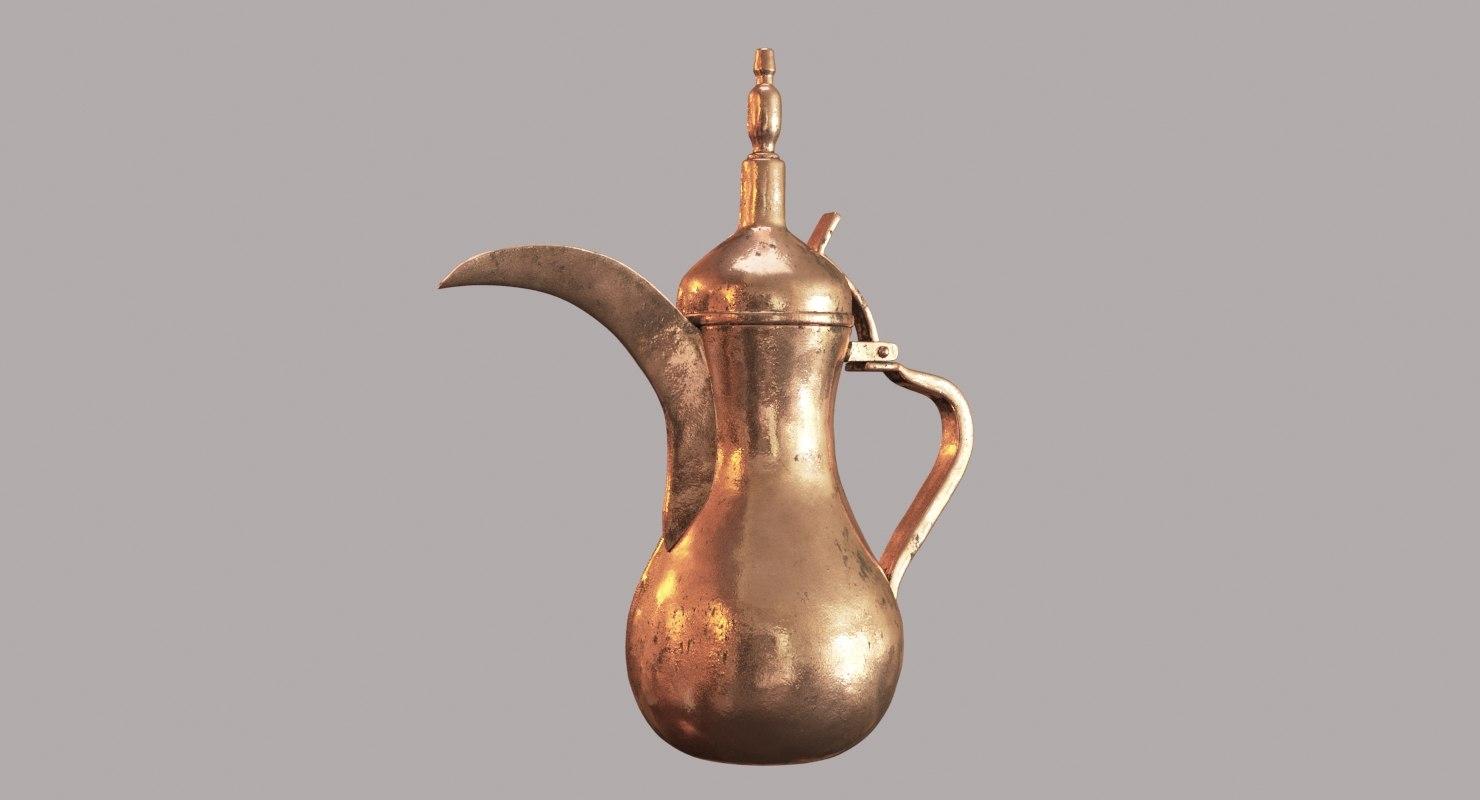 arabic teapot model