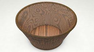 3D basket modeled
