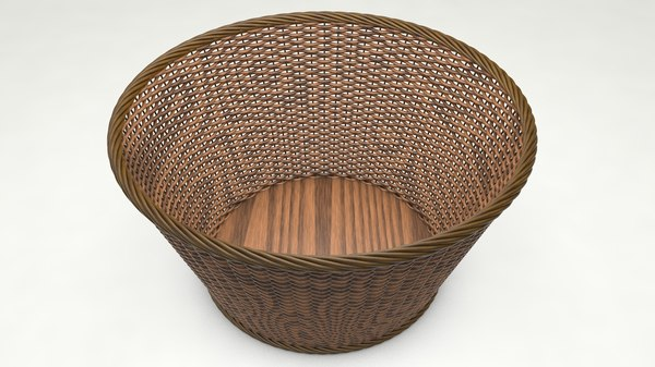 3D basket modeled