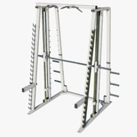 gym smith machine 3D