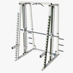 gym smith machine 3D