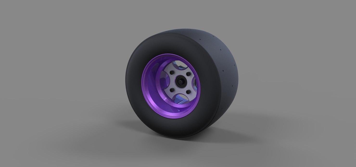 3D wheel sport